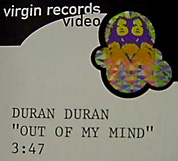 Out Of My Mind promo video